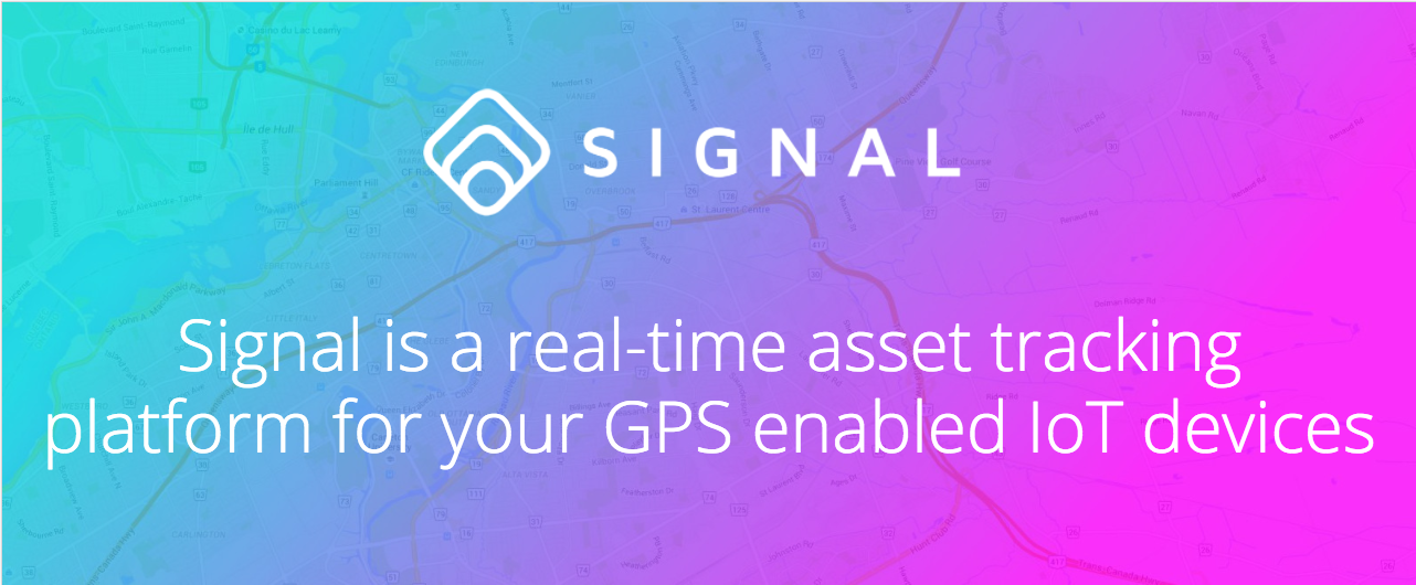 Signal is a real-time asset tracking platform for your GPS enabled IoT devices